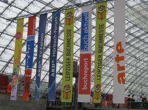 Leipzig Book Fair banners