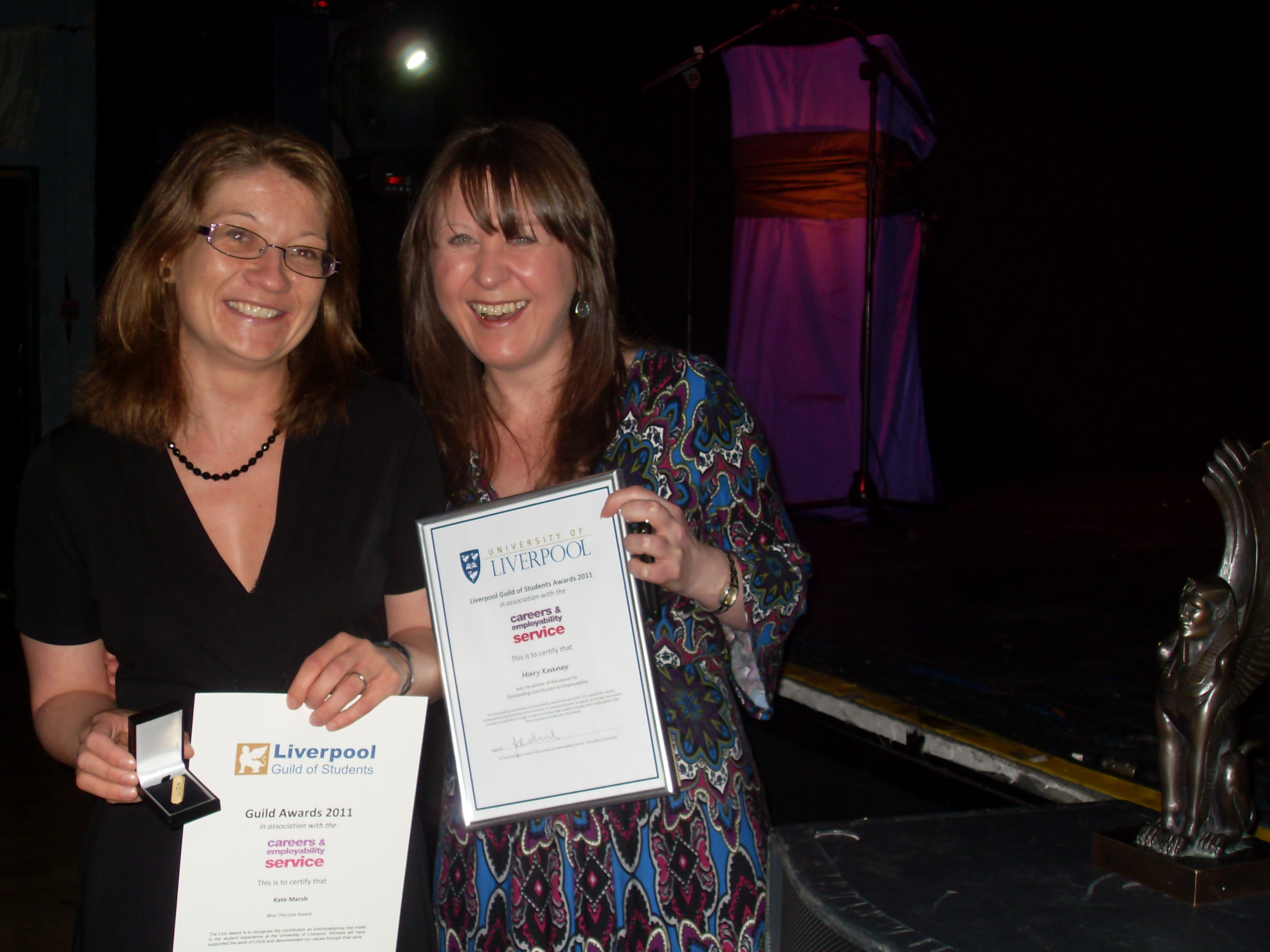 Award University Liverpool Staff