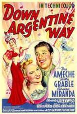 Down Argentine Way, a 1940 musical, is one of Lisa Shaw's favourite Miranda films