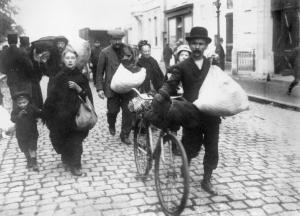 Belgian Refugees in Antwerp, 1914