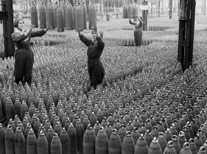 Women Workers at the national shell-filling factory, Chirwell (no date)