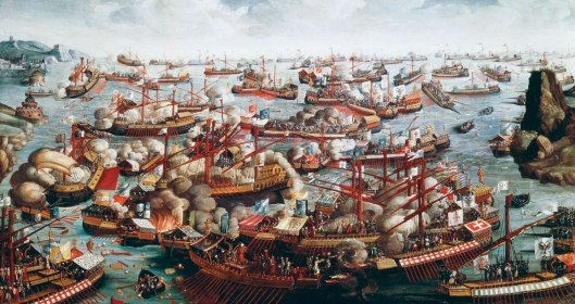 'The Battle of Lepanto' (1571), anonymous