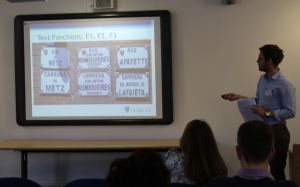 Will Amos demonstrates the clash between French and Occitan in street signs in Toulouse
