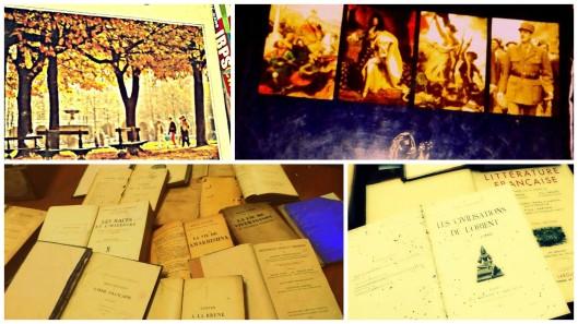 Books from the almirahs. Credits: Sayantani Chakraborti & Antara Mukherjee