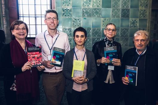 Elizabeth Lanza, Robert Blackwood, Stefania Tufi, Elana Shohamy, and Eliezer Ben-Rafael launch their outputs