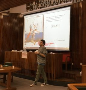 Danny Hahn discusses translation of his children's book