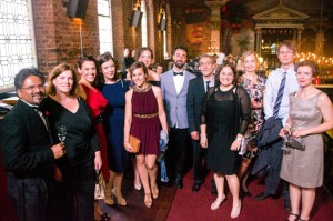 Modern Languages & Cultures staff at the ball
