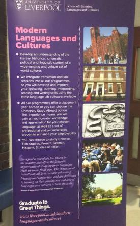Modern Languages & Cultures Open Day