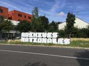 France's Archives nationales, at Pierrefitte-sur-Seine, north of Paris