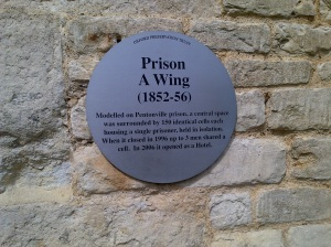 Memorialization at Oxford Gaol