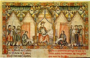 Alfonso X of Castile and the Siete Partidas